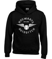 buzo saco capota  hogwarts snitch