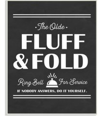 """stupell industries olde fluff and fold ring bell for service wall plaque art, 10"""" x 15"""""""