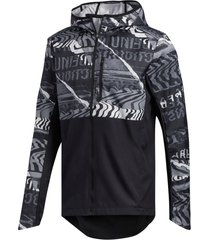 löparjacka own the run graphic jacket
