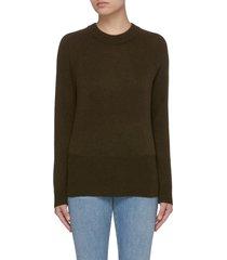 'fitz' raglan sleeves cashmere sweater