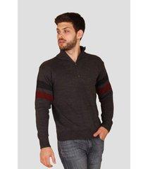 sweater gris el genovés padua