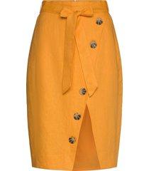 stambecco knälång kjol gul fall winter spring summer
