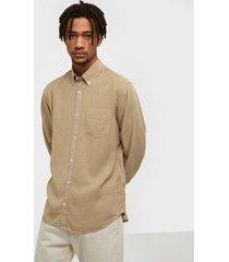 nn.07 levon shirt 5969 skjortor khaki