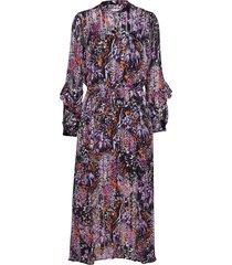 hilma dress maxi dress galajurk multi/patroon inwear