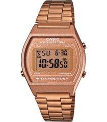 b-640wc-5a  reloj vintage retro,pavonado en oro rosa,100% original garantizados