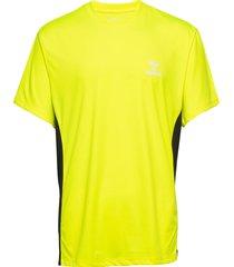 hmleino t-shirt s/s t-shirts short-sleeved gul hummel