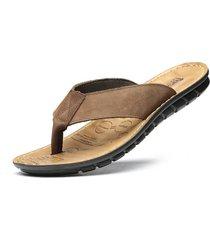 sandalias de playa con flip-flop para hombres masaje