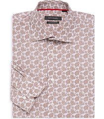 contemporary-fit paisley dress shirt