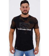 camiseta ecko especial spot preta