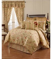 imperial dress porcelain 4pc queen comforter set bedding