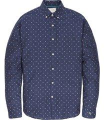 long sleeve shirt texture dress blues