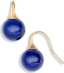 women's marco bicego africa turquoise drop earrings