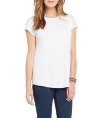 women's nic+zoe eaze crewneck t-shirt, size xx-large - white