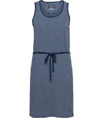 indigo striped dress dresses everyday dresses blå sebago