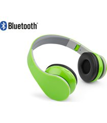 audifonos bluetooth case funcion manos libres en abs - verde limon