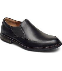 unelott step loafers låga skor svart clarks
