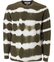 msgm ribbed sweatshirt