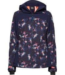 pw wavelite jacket outerwear sport jackets blå o'neill