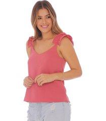 blusa con boleros 100614-00