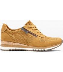sneaker marco tozzi (giallo) - marco tozzi