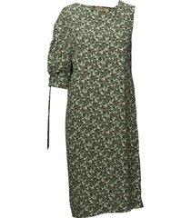 fleur print jurk knielengte groen whyred