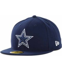 new era dallas cowboys nfl classic on field 59fifty fitted cap