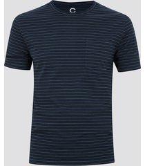 t-shirt med ränder - blå