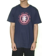 camiseta element gradient logo masculina e471a0242 marinho