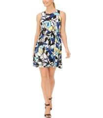 pappagallo the gwen floral-print shift dress