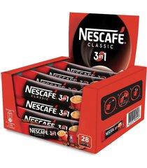 nescafe- 3 in 1 classic instant coffee case