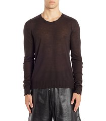 men's bottega veneta core cashmere crewneck sweater