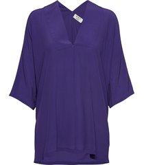day fan blouses short-sleeved paars day birger et mikkelsen