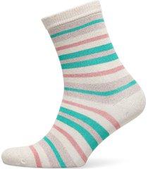 dalea multistripe sock lingerie socks regular socks vit becksöndergaard