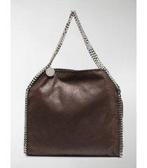 stella mccartney falabella chain-trimmed tote bag