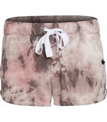 glyder women's powder short - bone tie dye - x-small