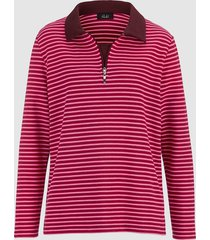 sweatshirt i 2-pack dress in bordeaux