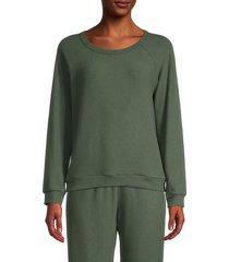 michael lauren women's kenny sweatshirt - black - size m
