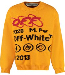 off-white industrial y013 intarsia sweater