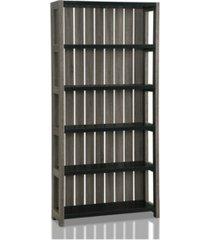 iman 5-shelf display case