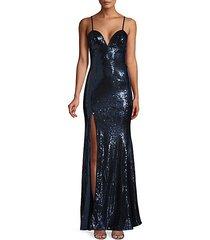 alejandra sequin mermaid gown