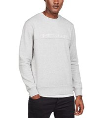 g-star raw men's embroidered paneled sweater, created for macy's