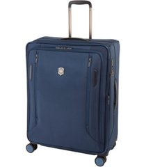 "victorinox swiss army vx avenue 27.5"" large expandable softside spinner suitcase"
