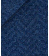 abito da uomo su misura, vitale barberis canonico, flanella spigata blu, autunno inverno | lanieri
