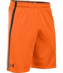 pantaloneta under armour hg tech mesh schwarz-naranja