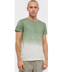solid janus ss t-shirt t-shirts & linnen green