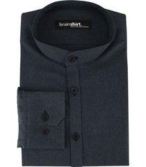 overhemd elverum uit biologisch katoen, indigo 37/38