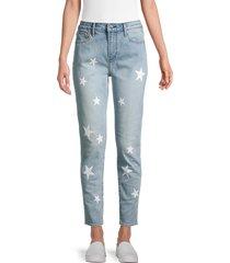 driftwood women's jacki high-rise jeans - light wash - size 27 (4)