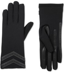 isotoner signature smartdri chevron stretch touchscreen gloves