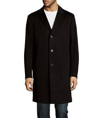buttoned long coat