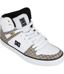 hoge sneakers dc shoes pure high-top wc se sn adys400042